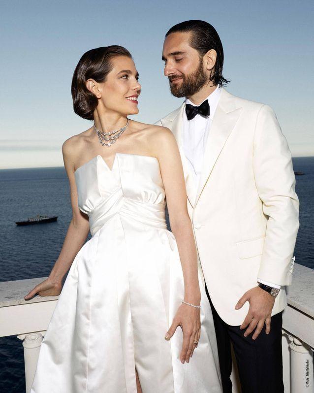 Charlotte Casiraghi et son mari Dimitri Rassam