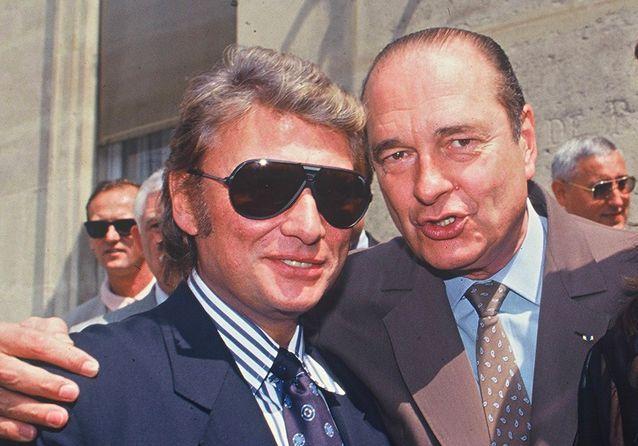 Chirac : Zidane, Line Renaud, Johnny… l'ami des stars