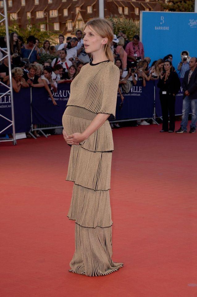 Clémence Poésy, radieuse sur le tapis rouge