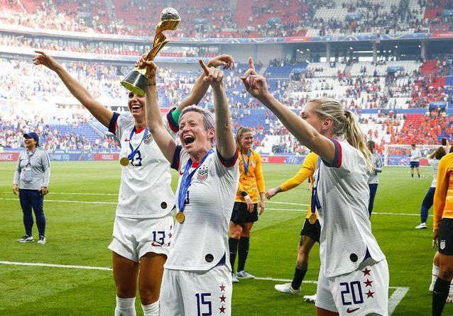Coupe du monde féminine 2019 : en images, la joie des Américaines