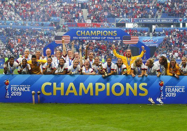 Les Américaines sont championnes du monde