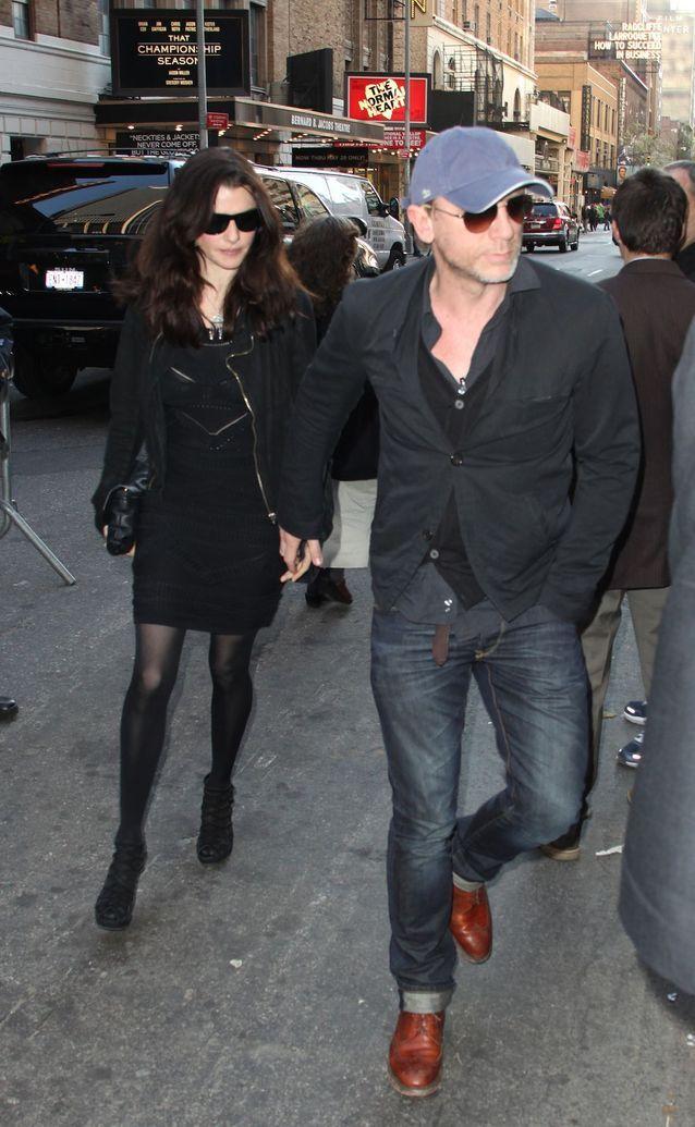 Daniel Craig et Rachel Weisz à New York en 2011