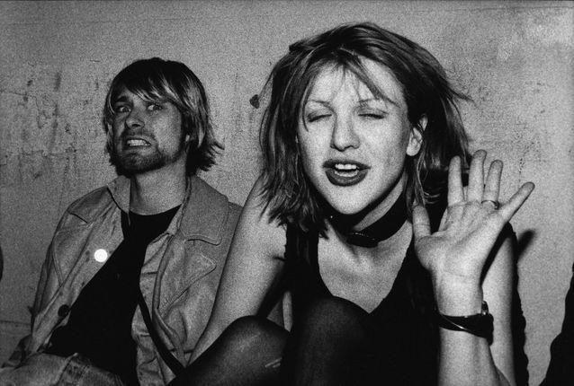 Kurt Cobain et Courtney Love sont tous deux habité par la musique