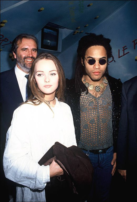 Vanessa Paradis rencontre Lenny Kravitz en 1992