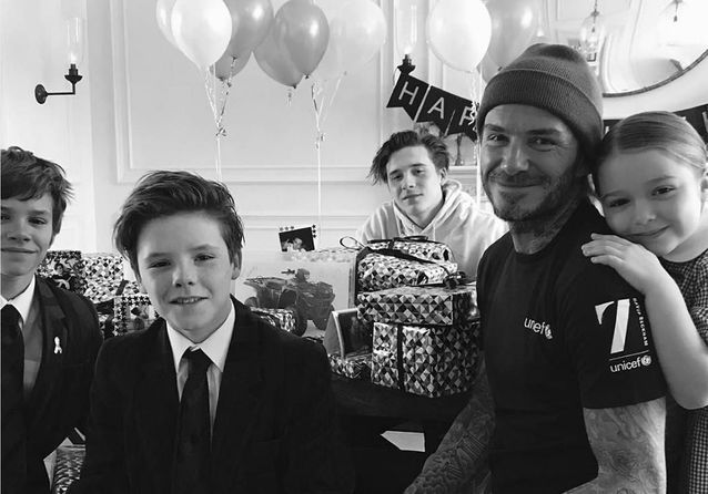 David Beckham, Brad Pitt, Will Smith : des papas cool et stylés !