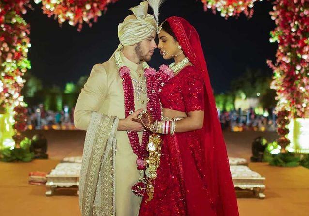 Découvrez les photos magnifiques du mariage de Priyanka Chopra et Nick Jonas