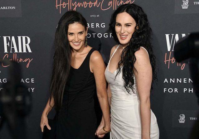 Demi Moore et sa fille aînée, l'actrice Rumer Willis