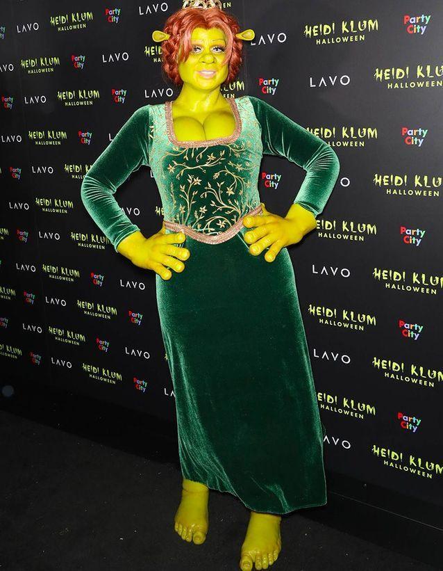 Heidi Klum en Shrek