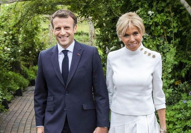 Emmanuel et Brigitte Macron rencontrent Kate Middleton et le prince William au G7