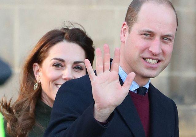 En plein Megxit, le prince William et Kate Middleton font front, le sourire aux lèvres