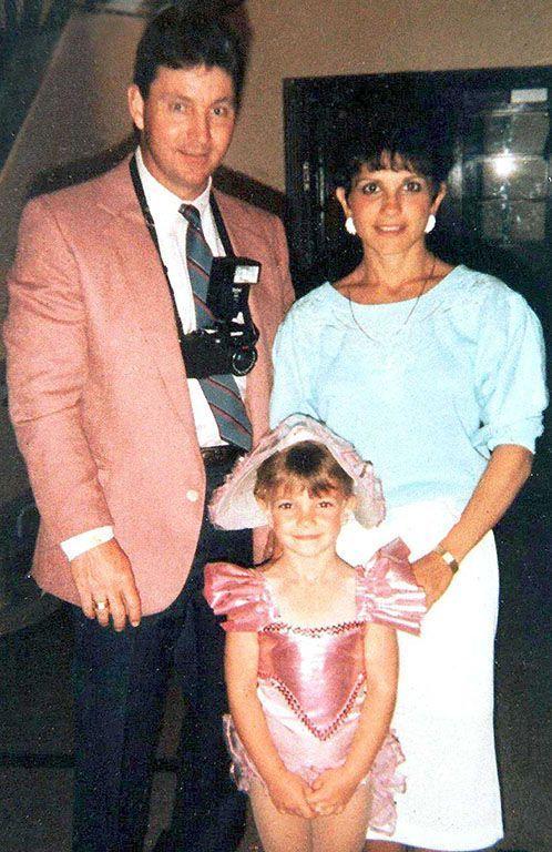 Britney Spears avec ses parents, Jamie et Lynne