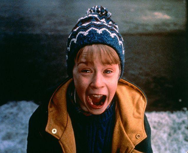 "Macaulay Culkin dans ""Maman, j'ai raté l'avion"""