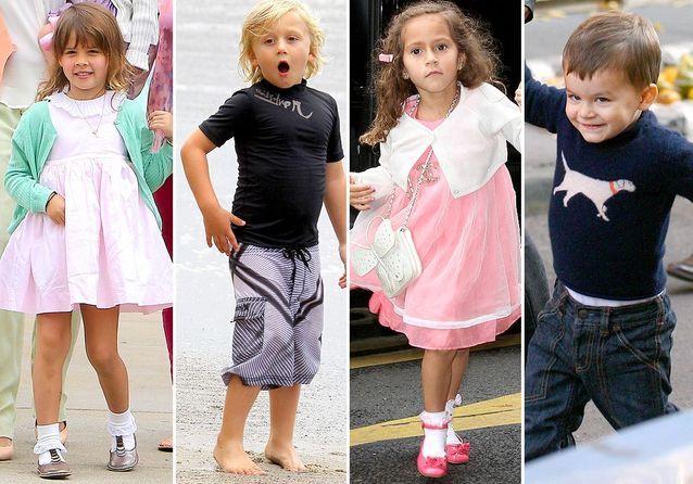 Enfants de stars : combien coûtent leurs vêtements