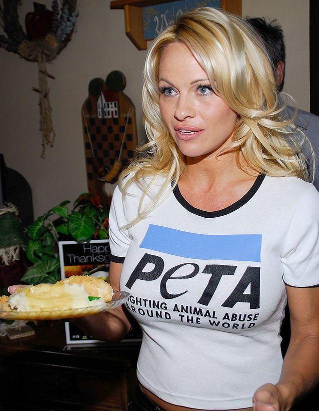 Pamela Anderson, égérie Peta