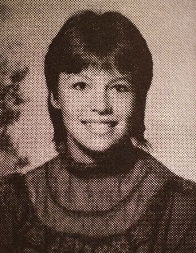 Pamela Anderson en 1984