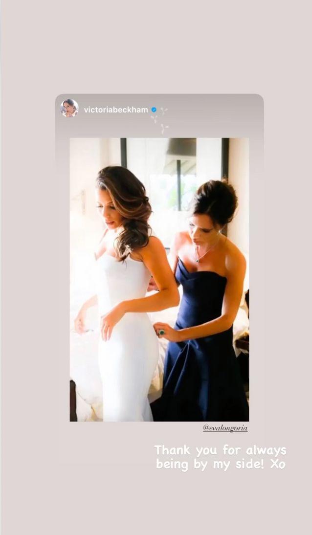 Victoria Beckham s'est souvenue de ses plus beaux moments avec Eva Longoria