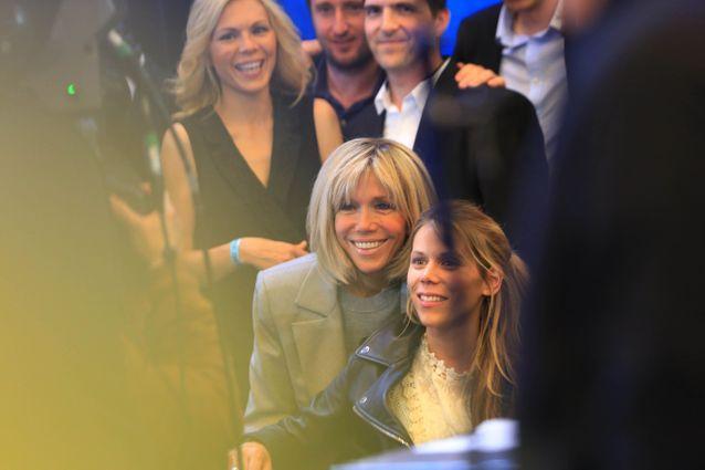 Tiphaine Auzière et Brigitte Macron