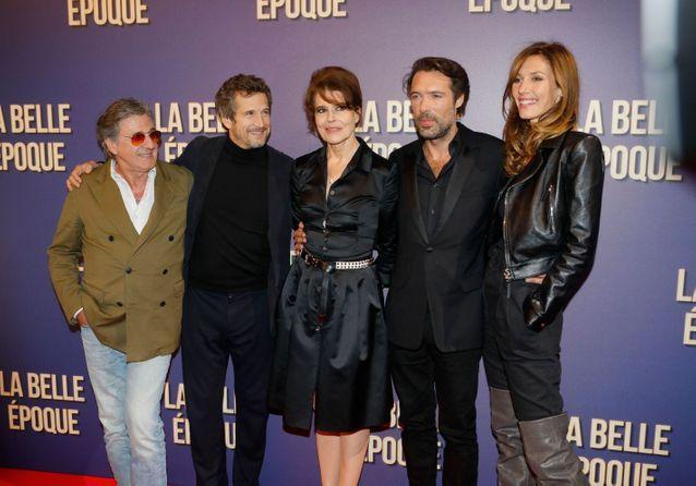 """Fanny Ardant, Guillaume Canet et Doria Tillier réunis à l'avant-première de """"La Belle Epoque"""""""