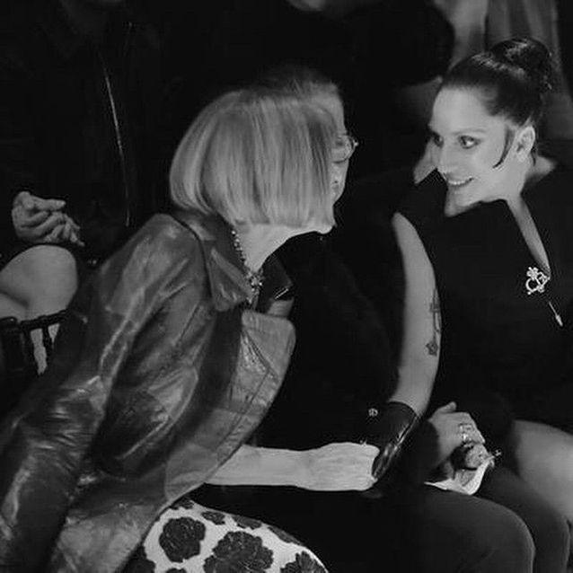 Lady Gaga et Anna Wintour