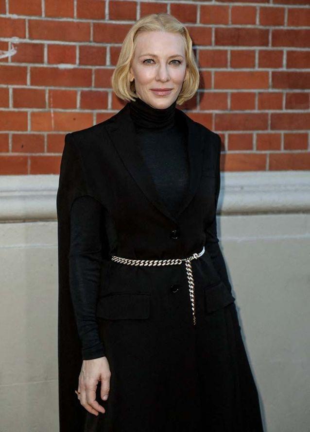 Cate Blanchett au défilé Burberry