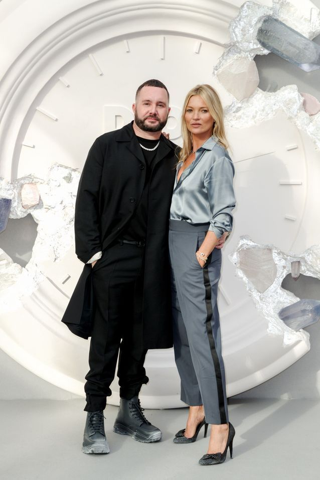Kim Jones et Kate Moss