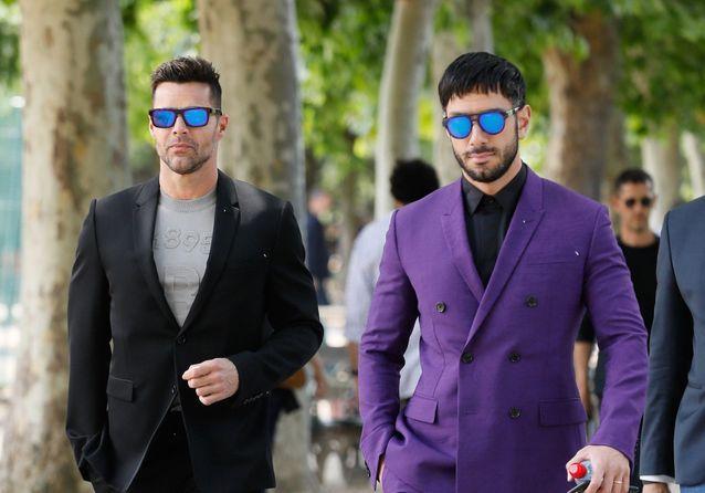 Fashion Week : Ricky Martin et son mari, Joe Jonas et Alain-Fabien Delon au défilé Berluti