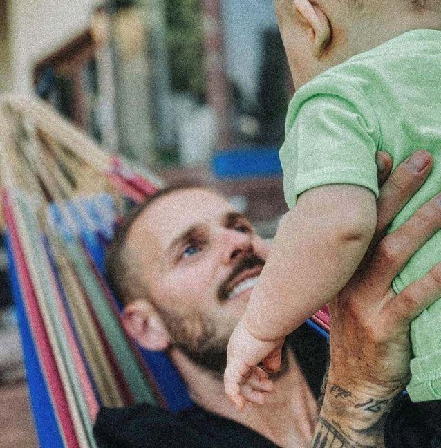 Matt Pokora et son fils Isaiah