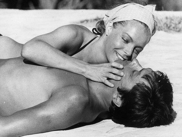 """Alain Delon et Romy Schneider dans """"La Piscine"""" (1968)"""