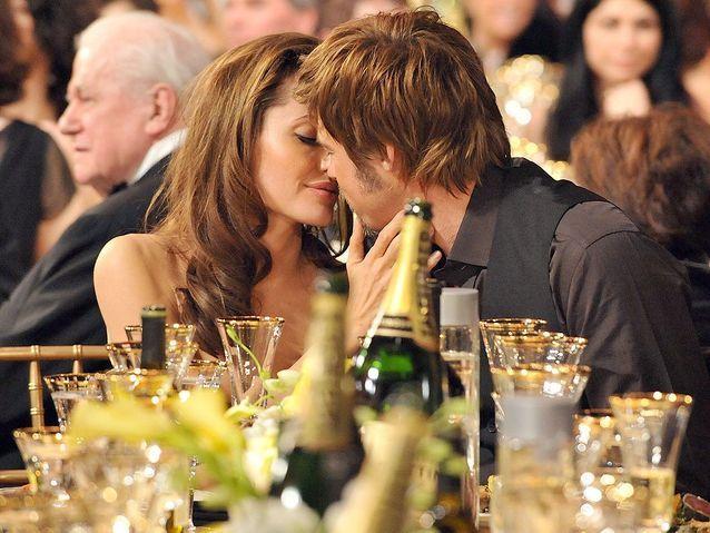 Angelina Jolie et Brad Pitt (2008)