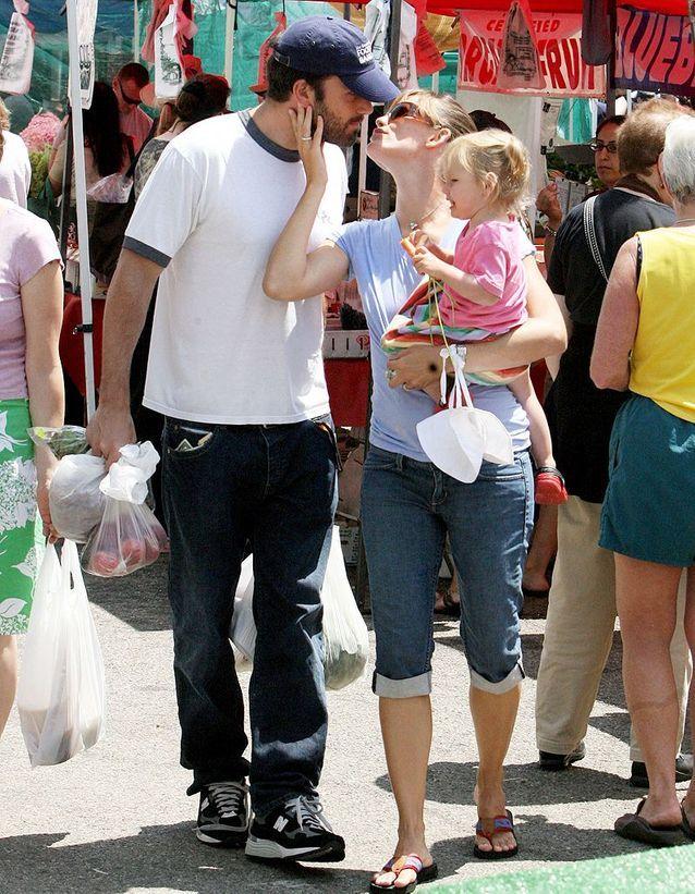 Ben Affleck et Jennifer Garner (2012)