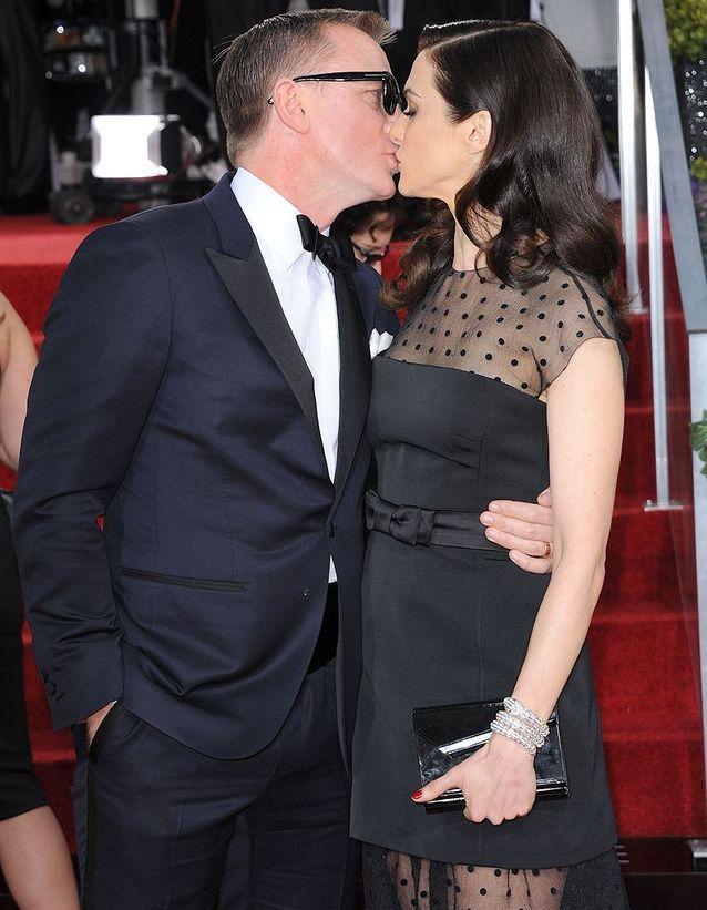Daniel Craig et Rachel Weisz (2013)