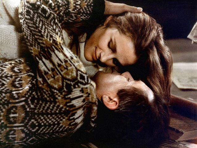 "Dirk Bogarde et Charlotte Rampling dans ""Portier de nuit"" (1974)"