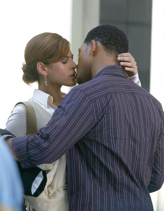 "Eva Mendes et Will Smith dans ""Hitch"" (2004)"