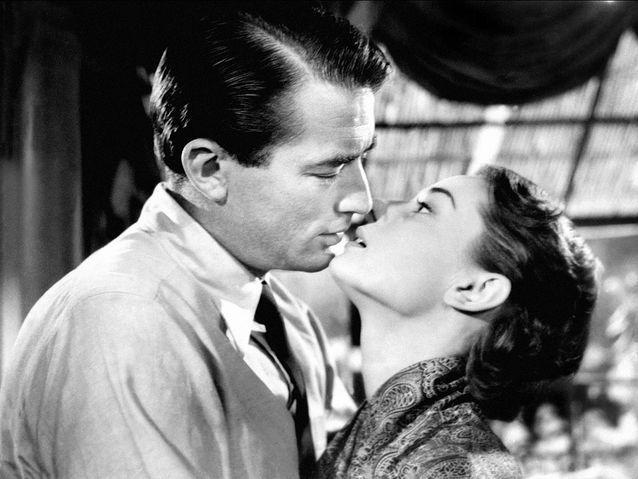 "Gregory Peck et Audrey Hepburn dans ""Vacances romaines"" (1953)"