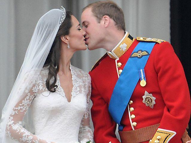 Kate Middleton et William (2011)