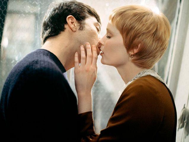 "Mia Farrow et Dustin Hoffman dans ""John & Mary"" (1969)"