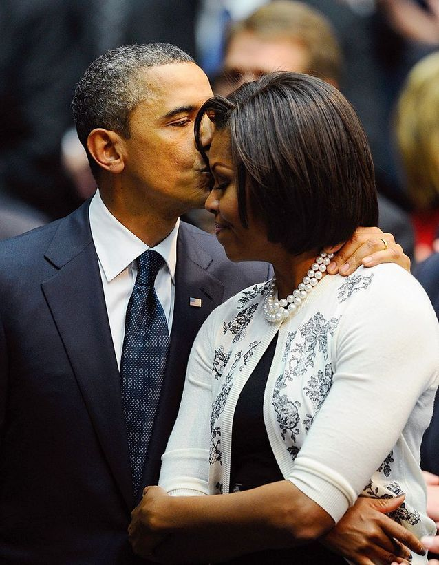 Michelle et Barack Obama (2011)