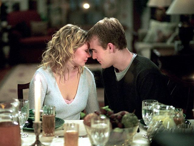 "Michelle Williams et James Van Der Beek dans ""Dawson"" (1999)"