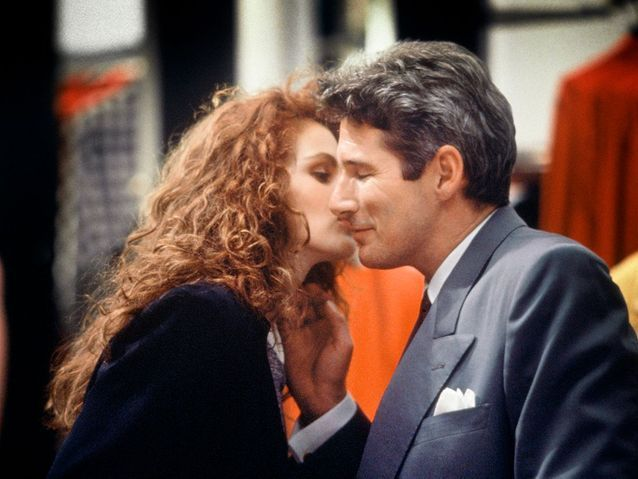 "Richard Gere et Julia Roberts dans ""Pretty Woman"" (1990)"