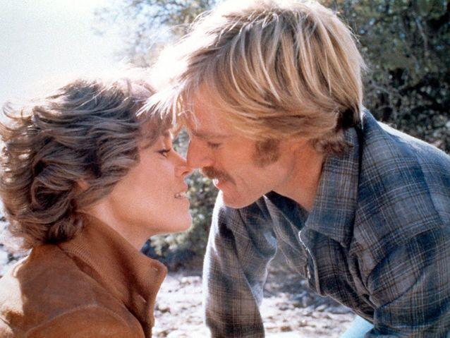 """Robert Redford et Jane Fonda dans """"Le Cavalier Électrique"""" (1979)"""