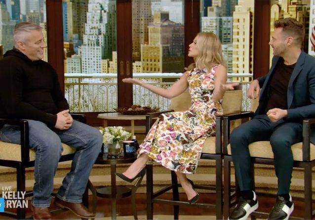 Le plateau de Live with Kelly and Ryan