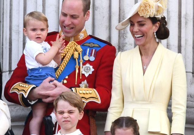 George, Charlotte et Louis : les enfants de la famille royale, vedettes de l'anniversaire de la reine