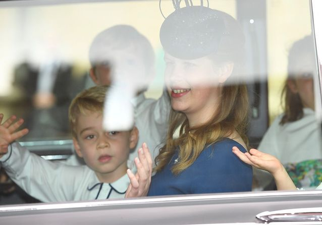 L'arrivée du prince George