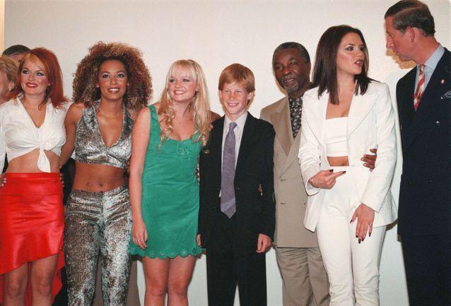 Avec les Spice Girls