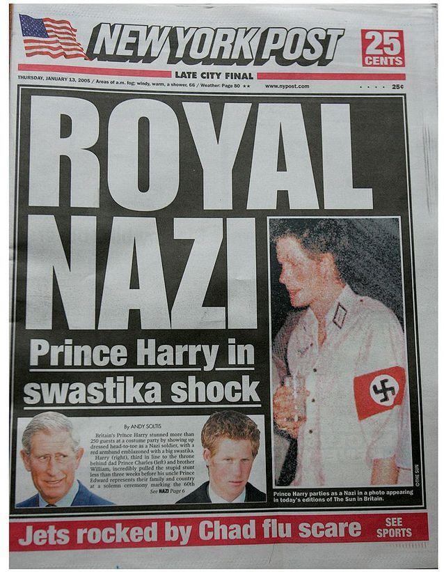 """L'affaire """"Nazi Harry"""""""