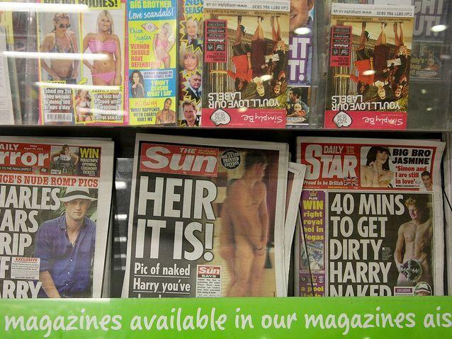 Le scandale des photos dénudées
