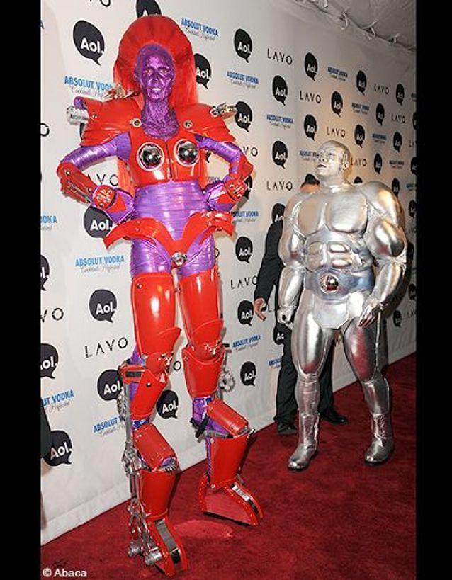 La soirée d'Halloween d'Heidi Klum et Seal