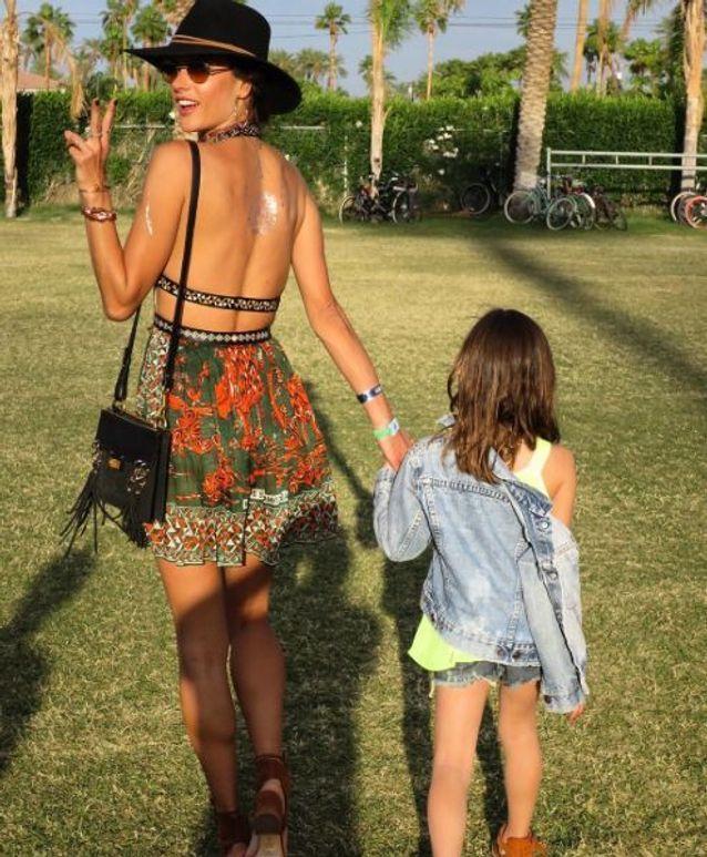 Alessandra Ambrosio et sa fille