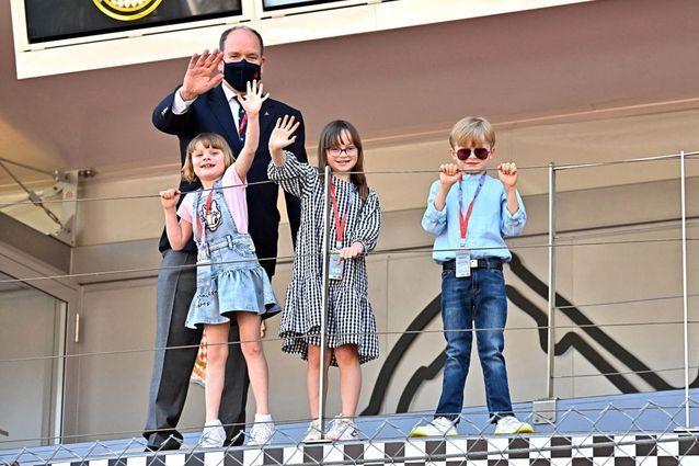 Jacques et Gabriella de Monaco, Kaia Rose Wittstock et le prince Albert