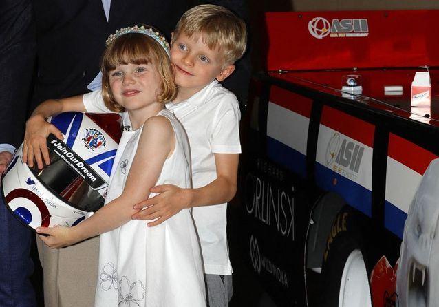 Jacques et Gabriella de Monaco, duo-star en marge du Grand Prix de Formule 1